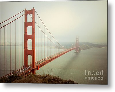 Golden Gate Bridge Metal Print by Ana V Ramirez
