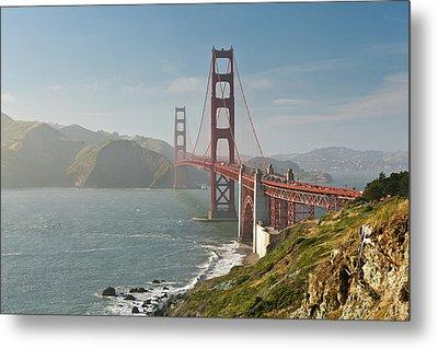 Golden Gate Bridge Metal Print by Ian Morrison