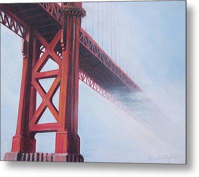 Golden Gate Bridge Metal Print by Kean Butterfield