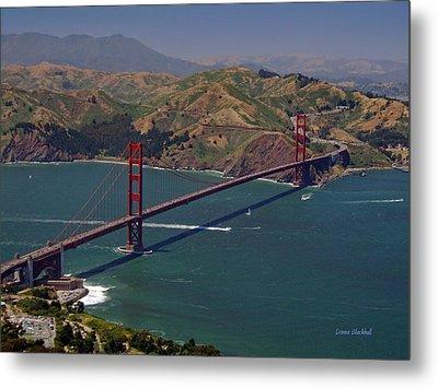 Golden Gate Metal Print by Donna Blackhall