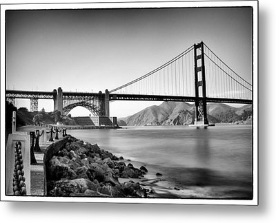 Golden Gate From Fort Point Metal Print by Tanya Harrison