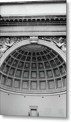 Golden Gate Music Concourse- Art By Linda Woods Metal Print