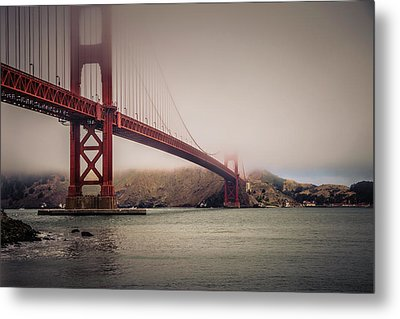 Golden Gate Metal Print by William Towner