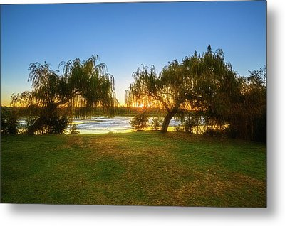 Golden Lake, Yanchep National Park Metal Print