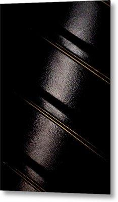 Golden Line Metal Print by Paul Job