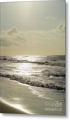 Golden Morning At Folly Metal Print by Jennifer White