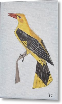 Golden Oriole Metal Print by Tamara Savchenko
