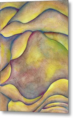 Golden Rose Metal Print by Versel Reid
