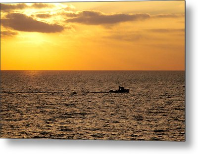 Metal Print featuring the photograph Golden Voyage by Christopher Woods