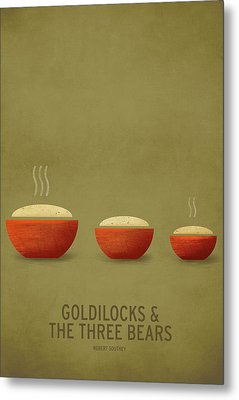 Goldilocks And The Three Bears Metal Print by Christian Jackson