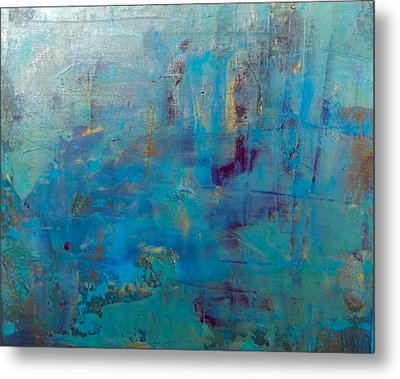 Goldnblue#46 Metal Print by Original Art For your home