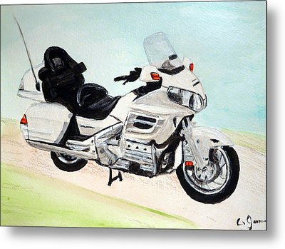 Goldwing Metal Print