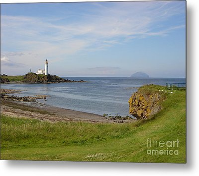 Golf At Turnberry Scotland Metal Print