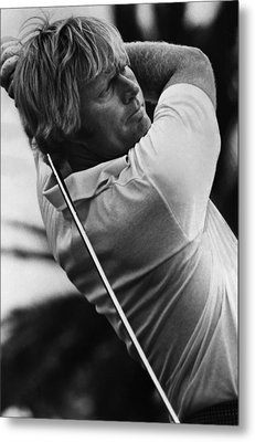 Golf Pro Jack Nicklaus, 1973 Metal Print by Everett