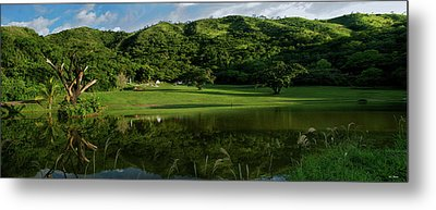 Golfito Desde La Laguna Metal Print by Bibi Rojas