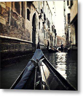 gondola - Venice Metal Print
