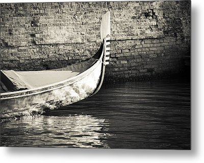 Gondola Wall Metal Print by Marco Missiaja