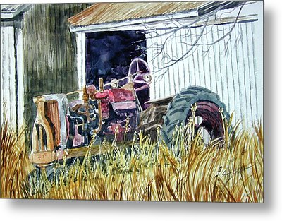 Gone But Not Forgotten Metal Print by Ron Stephens