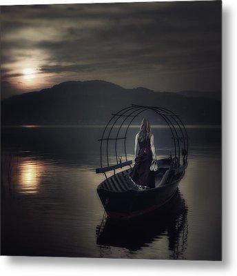 Gone Fishing Metal Print by Joana Kruse