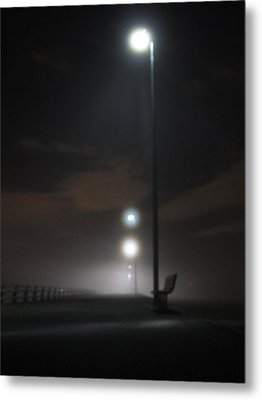 Metal Print featuring the photograph Gone To The Mist by Digital Art Cafe