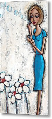 Gone With The Wind Metal Print by Denise Daffara