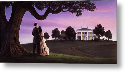 Gone With The Wind Metal Print by Jerry LoFaro