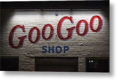 Goo Goo Metal Print