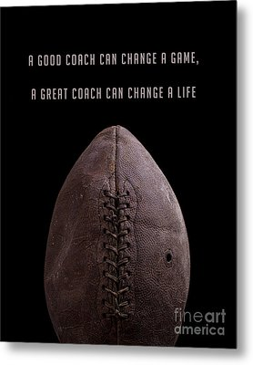 Metal Print featuring the photograph Good Coach 11 by Edward Fielding