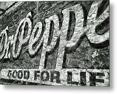 Good For Life Metal Print by Pair of Spades