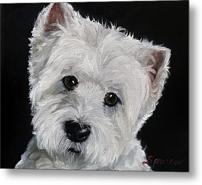 Good Listener Metal Print by Mary Sparrow