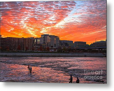 Good Morning Grand Rapids Metal Print by Robert Pearson