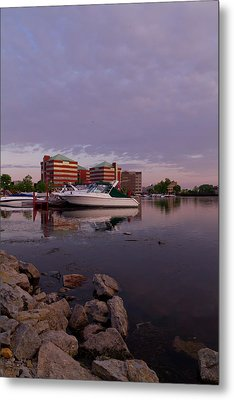 Metal Print featuring the photograph Good Morning Harbor by Joel Witmeyer