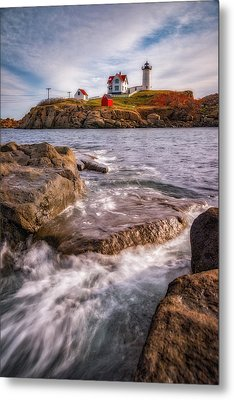 Good Morning Nubble Metal Print