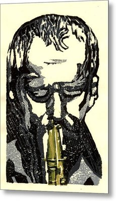 Good Sax Metal Print by John Brisson