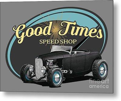 Good Times Ford Metal Print