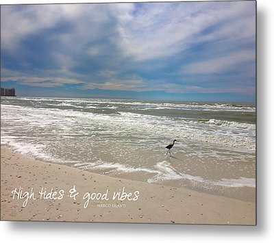 Good Vibes Metal Print by Tom Roderick
