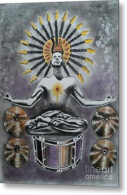 Good Vibrations Metal Print by Carla Carson