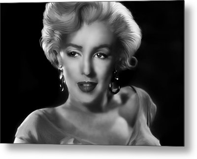 Goodbye Norma Jean Metal Print by Julie L Hoddinott