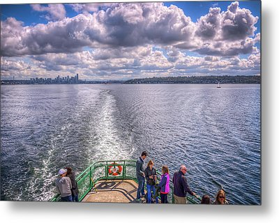 Goodbye Seattle Metal Print by Spencer McDonald