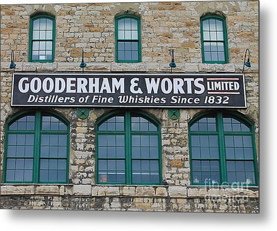 Gooderham And Worts Distillery Metal Print