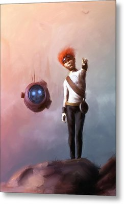 Goodkid Metal Print by Jamie Fox