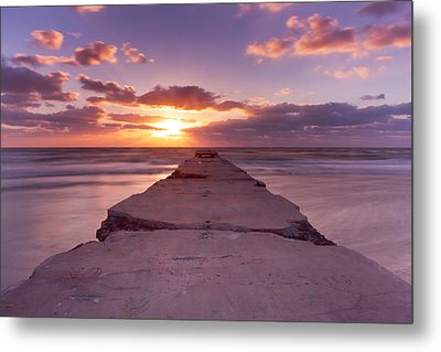 Goodnight Sun Metal Print