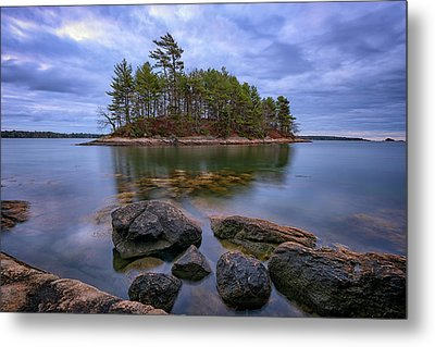 Metal Print featuring the photograph Googins Island by Rick Berk
