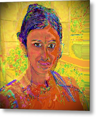 Gopika Metal Print by Noredin Morgan