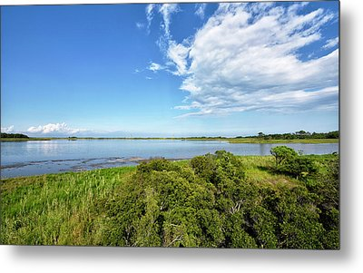 Metal Print featuring the photograph Gordons Pond Overlook - Cape Henlopen State Park - Delaware by Brendan Reals