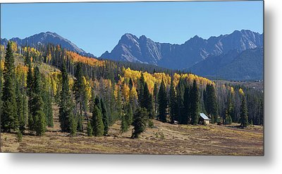 Metal Print featuring the photograph Gore Autumn by Aaron Spong