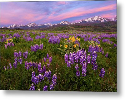 Metal Print featuring the photograph Gore Range Sunrise by Aaron Spong