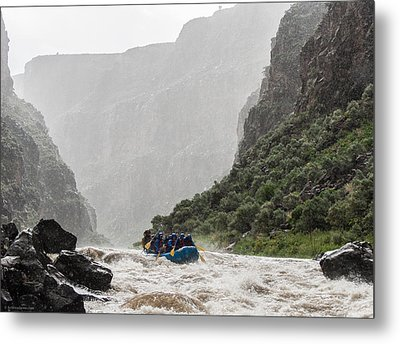 Gorge Squall Metal Print by Britt Runyon