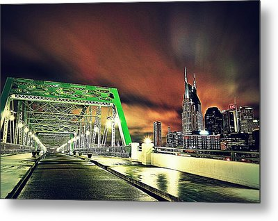 Gotham Calling Metal Print by Matt Helm