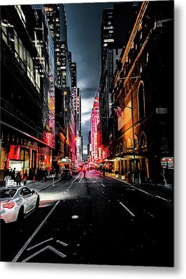 Metal Print featuring the photograph Gotham  by Nicklas Gustafsson